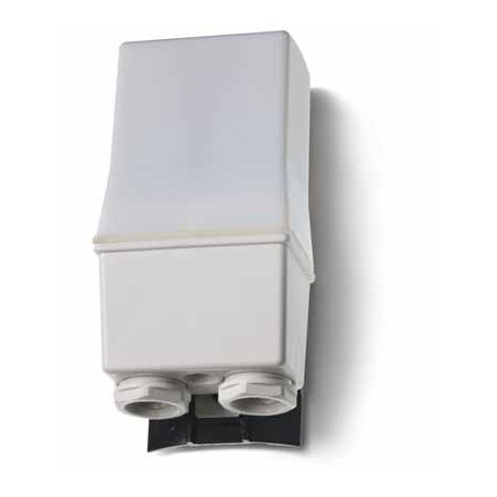 Wyłącznik zmierzchowy, 2 zestyki zwierne (2Z 16A),230V AC,  podwójne rozłączanie, 1-80 lx, IP 54