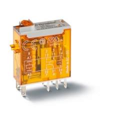Przekaźnik 2P 8A 24V AC, LED, 46.52.8.024.0054