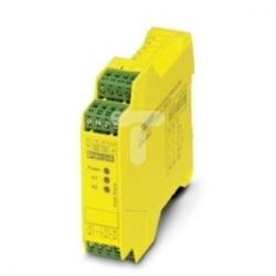 Przekaźnik bezpieczeństwa do sterowania dwuręcznego 24V AC/DC PSR-SCP- 24UC/THC4/2X1/1X2 2963721