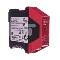 Przekaźnik bezpieczeństwa do wyłącznika awaryjnego i cięgnowego 3Z 1 tranzystorowe 48V AC XPSAC1321
