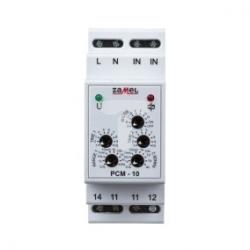 Przekaznik czasowy 1P 16A 0,1sek-10dni 230V AC wielofunkcyjny PCM-10 EXT10000085