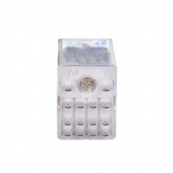 Przekaźnik miniaturowy 4P 5A 230V AC LED PRC4M40ANL 221816