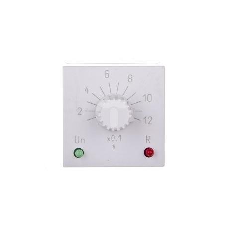 Przekaźnik czasowy 2P 5A 0,1sek-1,2sek 24-48V AC/DC praca cykliczna RTX-134 24/48 1,2 sek