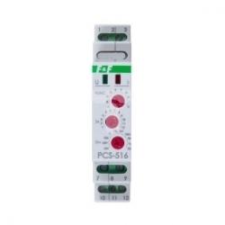 Przekaźnik czasowy 1P 8A 0,1sek-576h 12-264V AC/DC wielofunkcyjny PCS-516 UNI