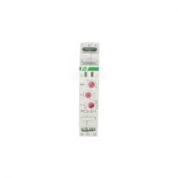 Przekaźnik czasowy 1P 8A 0,1sek-576h 12-264V AC/DC wielofunkcyjny PCU-511 UNI