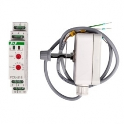 Przekaźnik czasowy 1P 8A 0,1sek-576h 230V AC, 24V AC/DC wielofunkcyjny PCU-518 DUO