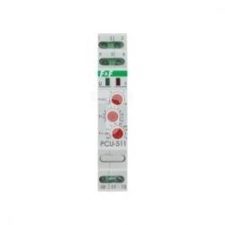 Przekaźnik czasowy 1P 8A 0,1-576h 230V AC, 24V AC/DC wielofunkcyjny PCU-511 DUO