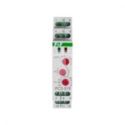 Przekaźnik czasowy 2P 8A 0,1sek-576h 230V AC, 24V AC/DC wielofunkcyjny PCS-519 DUO