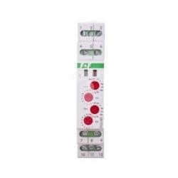 Przekaźnik czasowy 2P 8A 0,1sek-576h (praca/przerwa) 24V AC/DC 2-funkcyjny PCU-507 24V