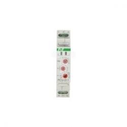 Przekaźnik czasowy 1P 8A 0,1sek-576h 230V AC wielofunkcyjny PCU-511 230V
