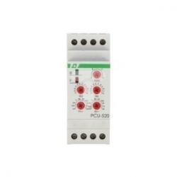 Przekaźnik czasowy 2P 8A 0,1sek-576h 230V AC wielofunkcyjny PCU-520 230V