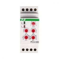 Przekaźnik czasowy 2P 8A 0,1sek-576h 24V AC/DC wielofunkcyjny PCU-520 24V