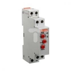 Przekaźnik czasowy 1P zwłoczny 0,1s-10dni 8A 12-240V AC/DC programowalny wielofunkcyjny TMM1