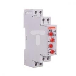 Przekaźnik czasowy 1Z+1P zwłoczny 0,1s-10dni 8A 12-240V AC/DC programowalny wielofunkcyjny TMM2