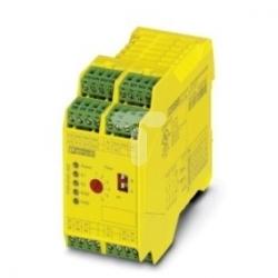 Przekaźnik bezpieczeństwa 5Z 1R 24V DC zatrzymania awaryjnego i drzwi SIL3 PSR-SPP24DC/ESD/5X1/1X2/300  2981431