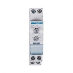 Przekaźnik czasowy wielofunkcyjny 12-230V AC, 12-48V DC, 1Z/1R 8A 250V AC1 EZN006