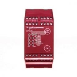 Przekaźnik bezpieczeństwa do wyłącznika awaryjnego i cięgnowego 6Z 24V DC PREVENTA XPSAV11113