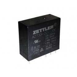 Przekaźnik Zettler 2CB-24D 2P 12A 24V DC wysokość 25,9mm, styki AgNi