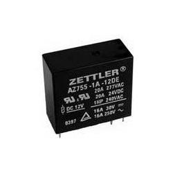 Przekaźnik Zettler 1P 16A 24V DC wysokość 25,9mm styki AgCdO