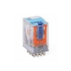 Przekaźnik 4CO 5A 230V AC LED IP40 FASTON