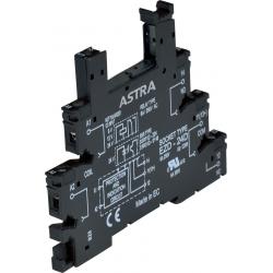 ASTRA 24AD - wąskie gniazdo do przekaźników miniaturowych 24 AC/DC