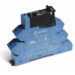 Przekaźnikowy moduł sprzęgający 3A 240V AC, ster. 24V DC, 38.41.7.024.8240