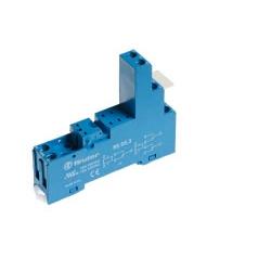 Gniazdo do przekaźników serii 40.31, modułów 99.80, zaciski śrubowe, montaż na szynę DIN 35mm, 95.93.3 SPA
