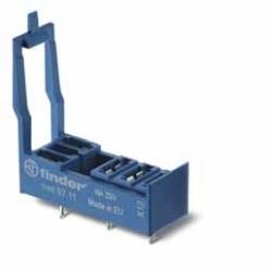 Gniazdo do przekaźników serii 46.61,montaż do płytki drukowanej