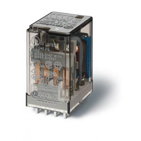 Przekaźnik 4P 7A 24V DC, do druku