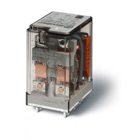 Przekaźnik 2P 10A 110V DC do druku