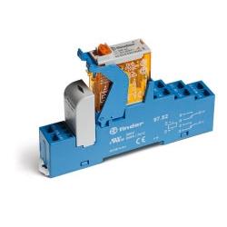 Przekaźnikowy moduł sprzęgający 2P 8A 24V DC, wykonanie trakcyjne, 4C.52.9.024.0000