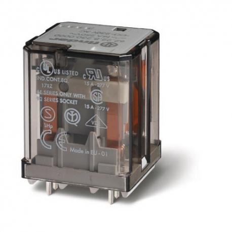 Przekaźnik 3P 16A 12V DC, do druku