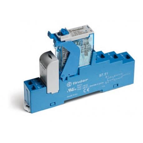 Przekaźnikowy moduł sprzęgający 1P 10A 24V AC