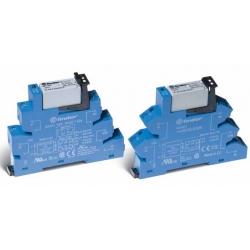 Przekaźnikowy moduł sprzęgający 2P 8A 12V DC, 38.52.7.012.0050