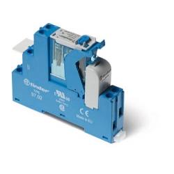 Przekaźnikowy moduł sprzęgający 15,8mm, 2P 8A 24VAC, 4C.02.8.024.0060