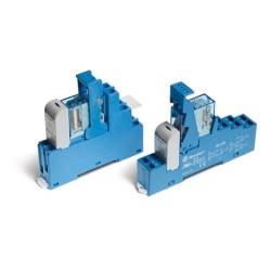 Przekaźnikowy moduł sprzęgający 15,8mm, 2P 10A 12VDC, styki AgNi, zaciski śrubowe, 48.62.7.012.0050