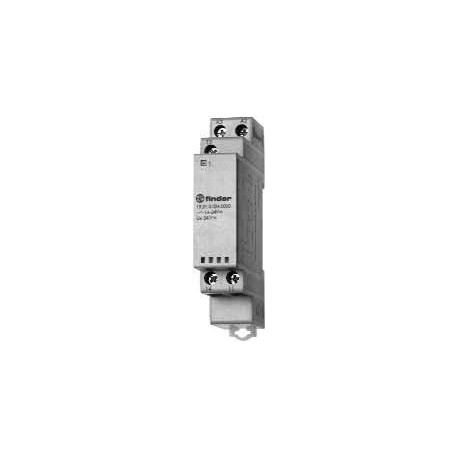 Przekaźnik sygnalizacyjny (czerwony/zielony/niebieski), 1 zestyk przełączny (1P 1A) 24V AC/DC, obudowa modułowa (1S 17,5mm)