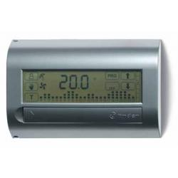 Termostat elektroniczny naścienny,ekran dotykowy, programowany tygodniowo, 1P 5A zasilanie bateryjne, zakres nastaw +5...+37'C k