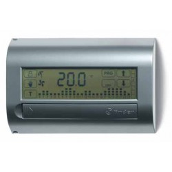Termostat elektroniczny naścienny,ekran dotykowy, programowany tygodniowo, 1P 5A zasilanie bateryjne, 1C.71.9.003.1107
