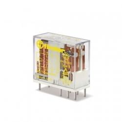 Przekaźnik bezpieczeństwa 2P 8A 12V DC, styk AgNi+Au