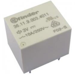 Przekaźnik półprzewodnikowy niski 15,7mm 1NO 3A wej. 10-32V DC, wyj. 12-275V AC 600189