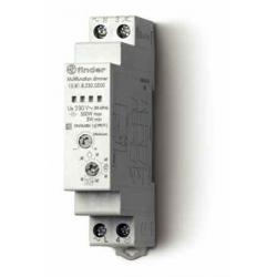 Elektroniczny przekaźnik impulsowy ze ściemniaczem, 500W 50Hz, obudowa instalacyjna (1S 17,5 mm), 15.81.8.230.0500