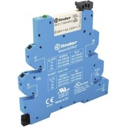 Przekaźnikowy moduł sprzęgający 6,2 mm MasterOUTPUT,1P 6 A 220…240 V AC / DC, styki AgNi 39.51.8.230.0060