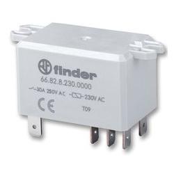 Przekaźnik półprzewodnikowy z radiatorem 1NO 25A wej. 3-32V DC, wyj. 48-600V AC DIN 600097