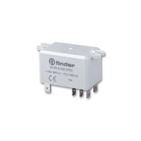 Przekaźnik półprzewodnikowy z radiatorem 1NO 30A wej. 3-32V DC, wyj. 48-600V AC DIN 600492