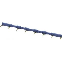 Mostek grzebieniowy 093.16 FINDER niebieski do gniazd serii 93