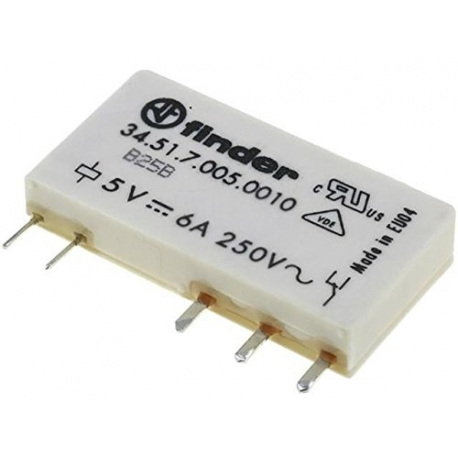 Przekaźnik 1P 6A 5V DC