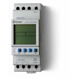 Programator tygodniowy elektroniczny 1P 16A 12V AC/DC, 12.21.0.012.0000