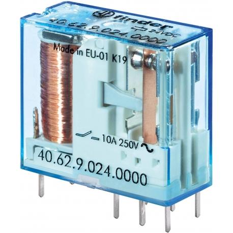 Przekaźnik 2P 10A 12V DC, 40.62.9.012.0000