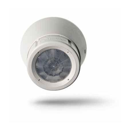 Czujnik ruchu 360°, 1 zestyk zwierny (1Z 10A), styk bez potencjałowy, 230V AC, do montażu na suficie, wykonanie natynkowe